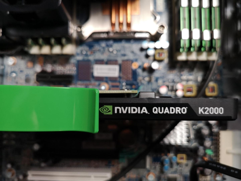 Grafikkarte NVIDIA Quadro K2000 eine der besten Profikarten – Geheimtipp :-)