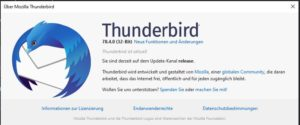 Mozilla Thunderbird 78.4.0 ist da