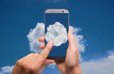 Smartphone Cloud Zugriff