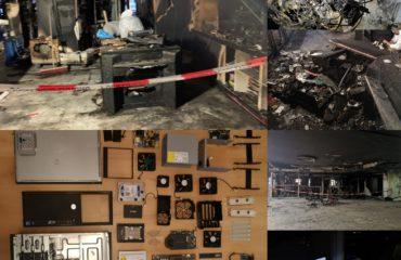 IT-Soforthilfe nach Brand