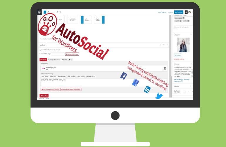 Von der Webseite direkt in Social-Media mit AutoSocial